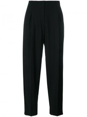 Зауженные брюки Mauro Grifoni. Цвет: чёрный
