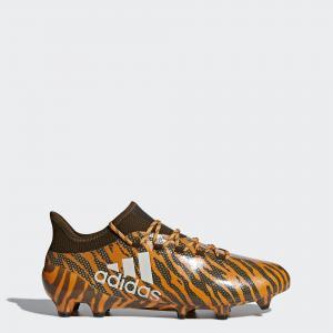 Футбольные бутсы X 17.1 FG  Performance adidas. Цвет: оливковый