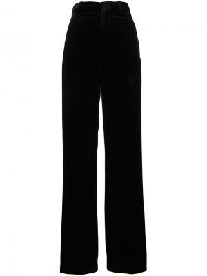 Расклешенные брюки Vince. Цвет: чёрный
