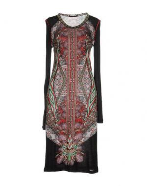 Платье до колена CUSTO BARCELONA. Цвет: кирпично-красный