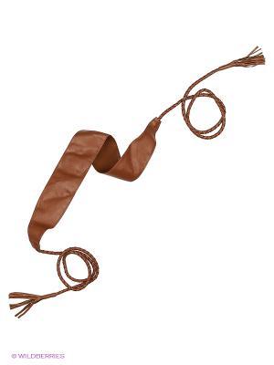 Пояс RUXARA. Цвет: коричневый