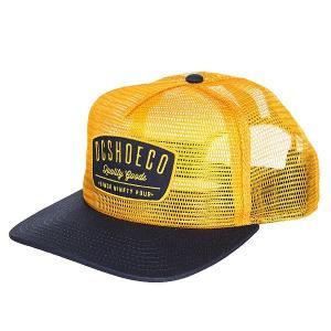 Бейсболка с сеткой DC Carnoble Amber Gold Shoes. Цвет: оранжевый,синий
