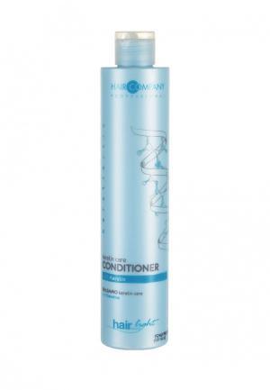 Бальзам-уход для волос с кератином Hair Company Professional. Цвет: голубой