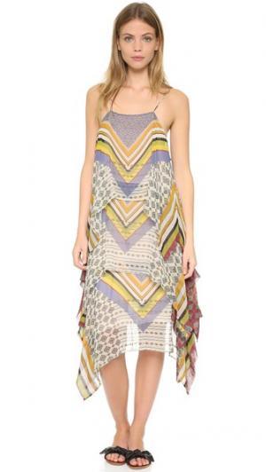 Платье Jenny Warm. Цвет: голубой