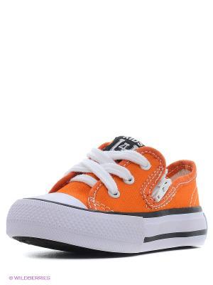 Кеды 4U. Цвет: оранжевый