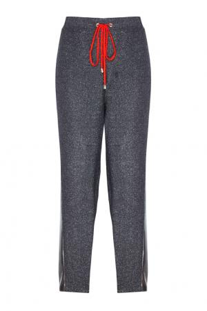 Шерстяные брюки VIKTORIA IRBAIEVA. Цвет: none