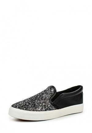 Слипоны Max Shoes. Цвет: черный