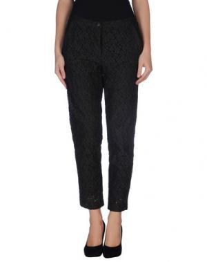 Повседневные брюки TUA NUA. Цвет: темно-коричневый