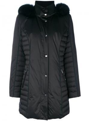 Padded coat Guy Laroche Vintage. Цвет: чёрный