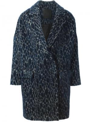 Пальто Hayley D.Efect. Цвет: синий