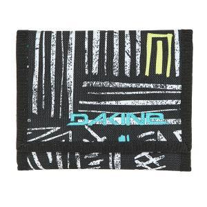 Кошелек  Diplomat Wallet Kava Kav Dakine. Цвет: черный,белый,светло-голубой