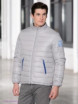 Куртка Fresh. Цвет: светло-серый