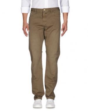 Джинсовые брюки AT.P.CO. Цвет: хаки