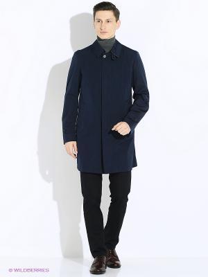Пальто Maurizio Baldassari. Цвет: темно-синий