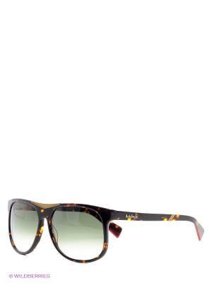 Солнцезащитные очки BLD 1103 02 Baldinini. Цвет: зеленый, коричневый