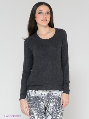 Кофточка Vero moda. Цвет: темно-серый, черный