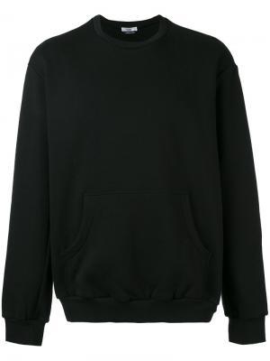 Stitched logo sweatshirt Selfmade By Gianfranco Villegas. Цвет: чёрный