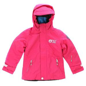 Куртка утепленная детская  Pearl Pink Picture Organic. Цвет: темно-розовый
