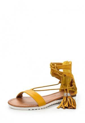 Сандалии Bellamica. Цвет: коричневый