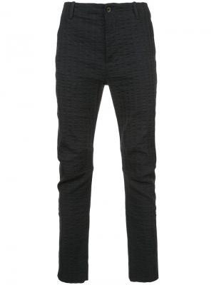 Строгие брюки Uma Wang. Цвет: синий