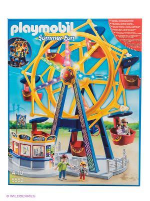 Парк Развлечений Колесо обозрения с огнями Playmobil. Цвет: желтый, синий