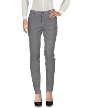 Повседневные брюки CLAUDIA STRÄTER. Цвет: серый