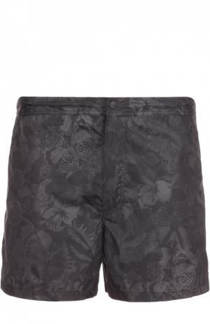 Плавки-шорты Valentino. Цвет: черный