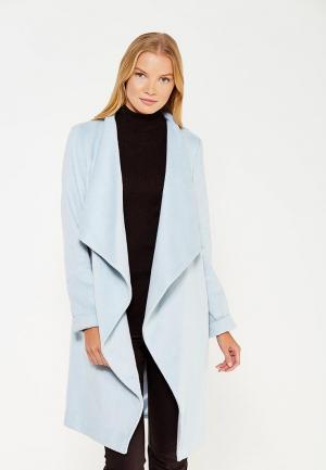 Пальто Wallis. Цвет: голубой