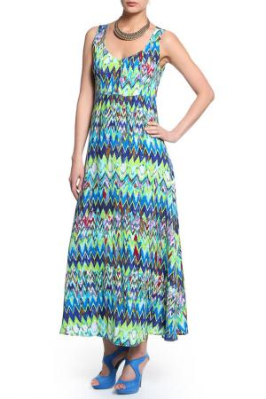 Платье КЛАССИК-Т. Цвет: мультиколор