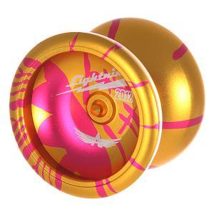 Йо-йо  Lightning Gold/Pink Aero-Yo. Цвет: желтый,розовый