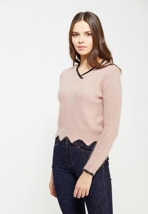 Пуловер Lusio. Цвет: розовый