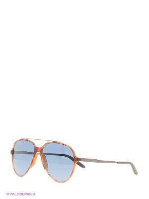 Солнцезащитные очки CARRERA. Цвет: синий, рыжий