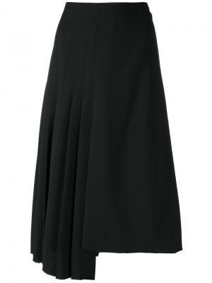Плиссированная юбка Golden Goose Deluxe Brand. Цвет: чёрный
