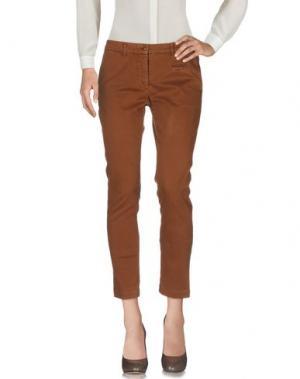 Повседневные брюки KUBERA 108. Цвет: верблюжий