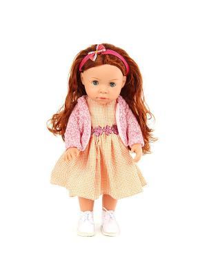 Кукла Мэгги 37см, можно купать Lisa Jane. Цвет: розовый