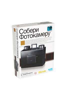 Собери фотокамеру 4M. Цвет: черный, белый