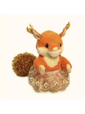 Мягкая игрушка Белка 21.10.1 цвет оранжевый Malvina. Цвет: оранжевый