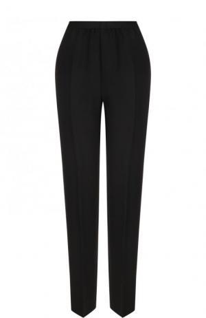 Укороченные однотонные брюки со стрелками Maison Margiela. Цвет: черный