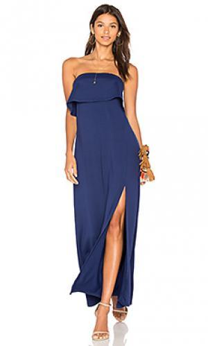 Платье benny Susana Monaco. Цвет: синий
