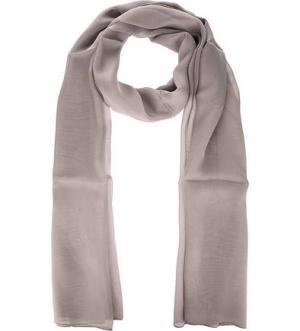 Серый палантин из шелка FRAAS. Цвет: серый