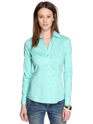 Блузка S.OLIVER. Цвет: бирюзовый