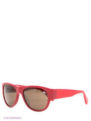 Очки солнцезащитные LM 533S 03 La Martina. Цвет: бордовый