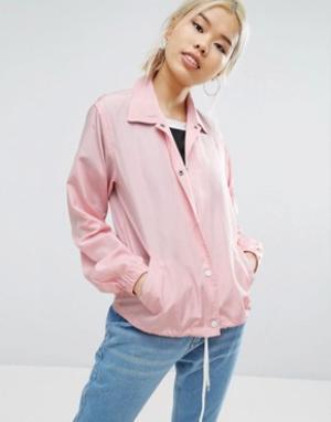 Daisy Street Спортивная куртка. Цвет: розовый