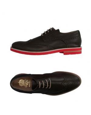 Обувь на шнурках VIA DEI CALZAIUOLI. Цвет: зеленый-милитари