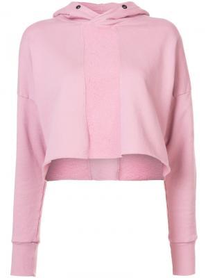 Толстовка Road с капюшоном Daniel Patrick. Цвет: розовый и фиолетовый
