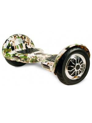 Оригинальный гироскутер CarWalk Offroad. Размер колеса 10 дюймов.. Цвет: зеленый