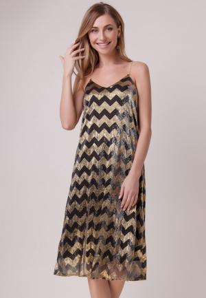 Платье Olga Skazkina. Цвет: золотой