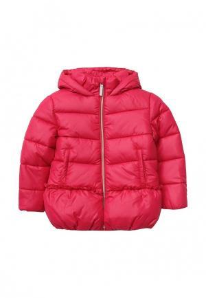 Куртка утепленная Tom Tailor. Цвет: розовый