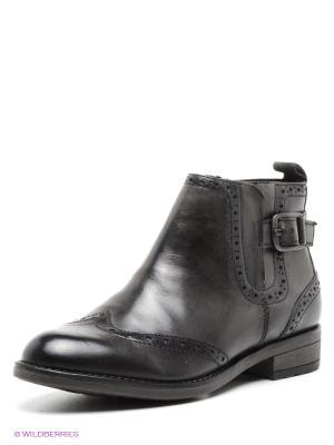 Ботинки Tamaris. Цвет: темно-серый