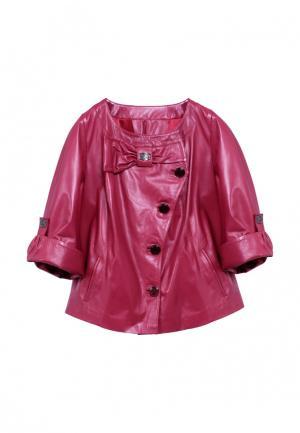 Куртка Albertini Collezione. Цвет: розовый